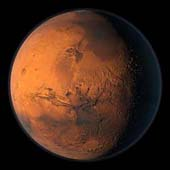 The red color of Mars is due to iron oxide