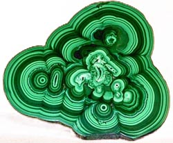 Malachite is a complex copper substance