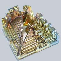 Crystal of bismuth